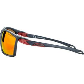 Alpina Twist Five CM+ Okulary rowerowe, indigo matt-cherry/red mirror